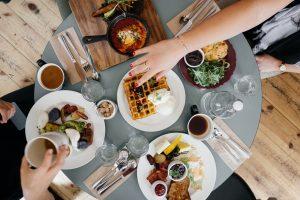art de la table et manger santé
