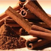 cannelle, chocolat et noix