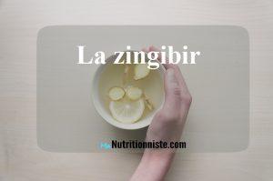 gingembre eau vitaminée detox