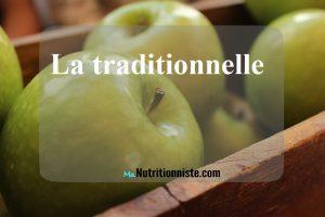 pomme detox eau vitaminée