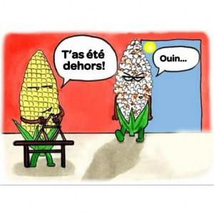 popcorn drole