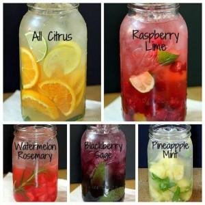 propre eau vitaminée