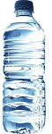 bottled water, hydrated