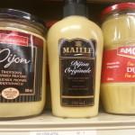 Choix de produits – Moutarde