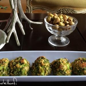 bouchées de brocoli et cheddar