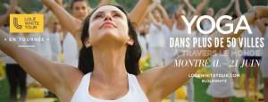 Lole white tour / en tournée Yoga plein air @ L'esplanade | Montréal | Québec | Canada