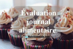 evaluation en ligne journal alimentaire alimentation habitudes