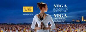 Lolë White Tour Montréal 2016 YOGA @ Quai Jacques Cartier Vieux port de Montreal