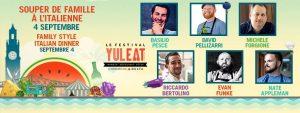Le Festival YUL EAT Souper de famille à l'Italienne @ Quai de l'horloge | Montréal | Québec | Canada