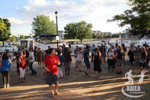 Salsa au bord de l'eau @ Sainte-Anne-de-Bellevue Canal   Sainte-Anne-de-Bellevue   Québec   Canada