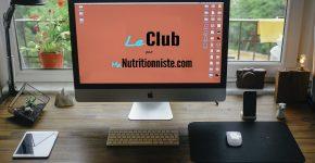 service nutrition en ligne