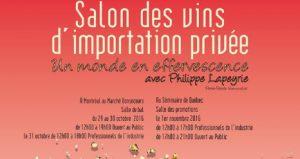 Salon des vins d'importation privée @ Marché Bonsecours